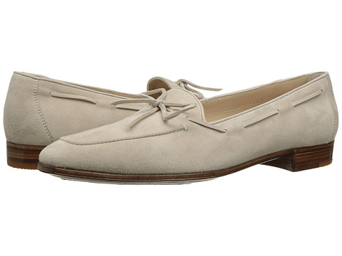 Gravati Bowed Velukid Slip-On Loafer - Sand