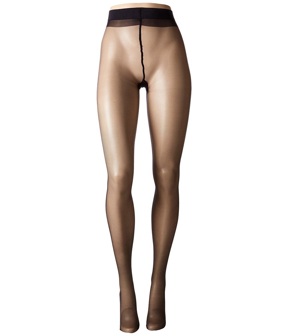 Seamed Stockings, Nylons, Tights Calvin Klein - Backseam Sheer - Sheer to Waist Black Sheer Hose $16.00 AT vintagedancer.com