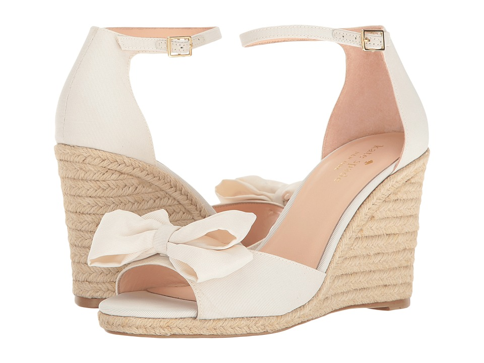 Kate Spade New York Broome (Ivory Grosgrain) Women