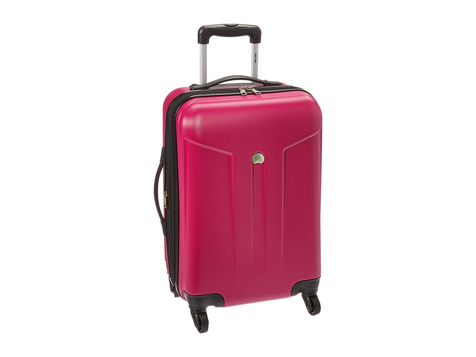 Delsey - Comete 20 Carry-On Expandable Spinner Trolley (Fuchsia) Carry on Luggage
