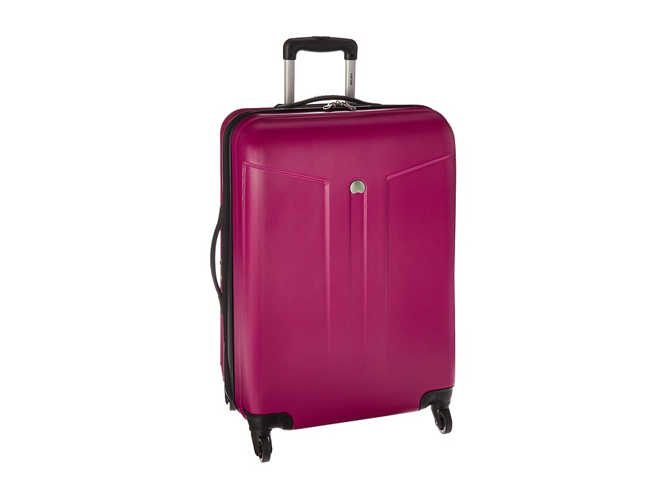 Delsey - Comete 24 Expandable Spinner Trolley (Fuchsia) Pullman Luggage