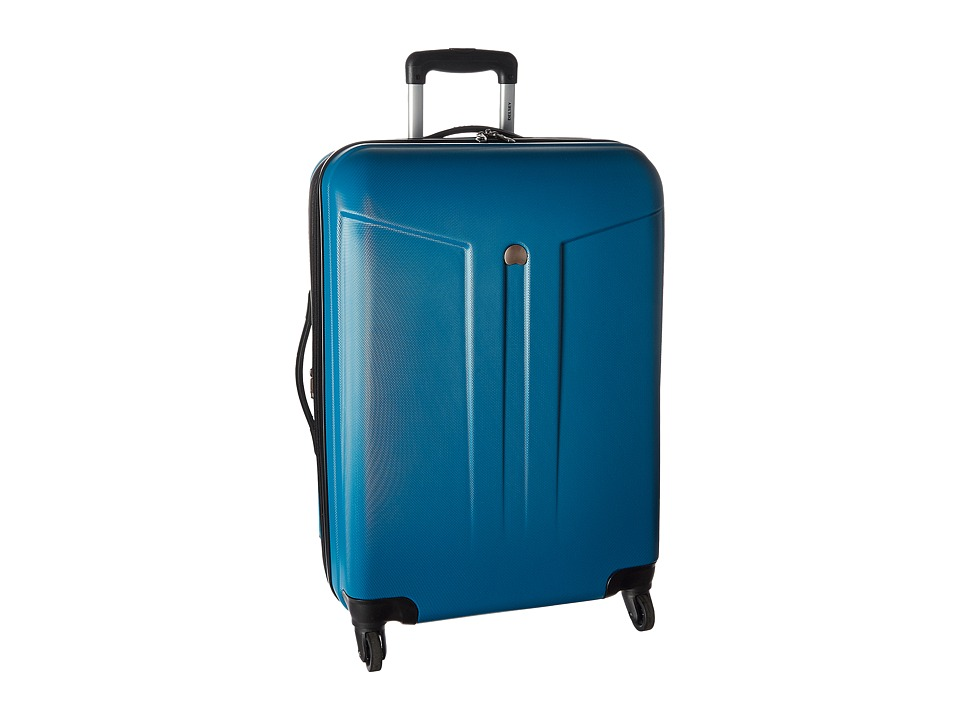 Delsey - Comete 24 Expandable Spinner Trolley (Teal) Pullman Luggage
