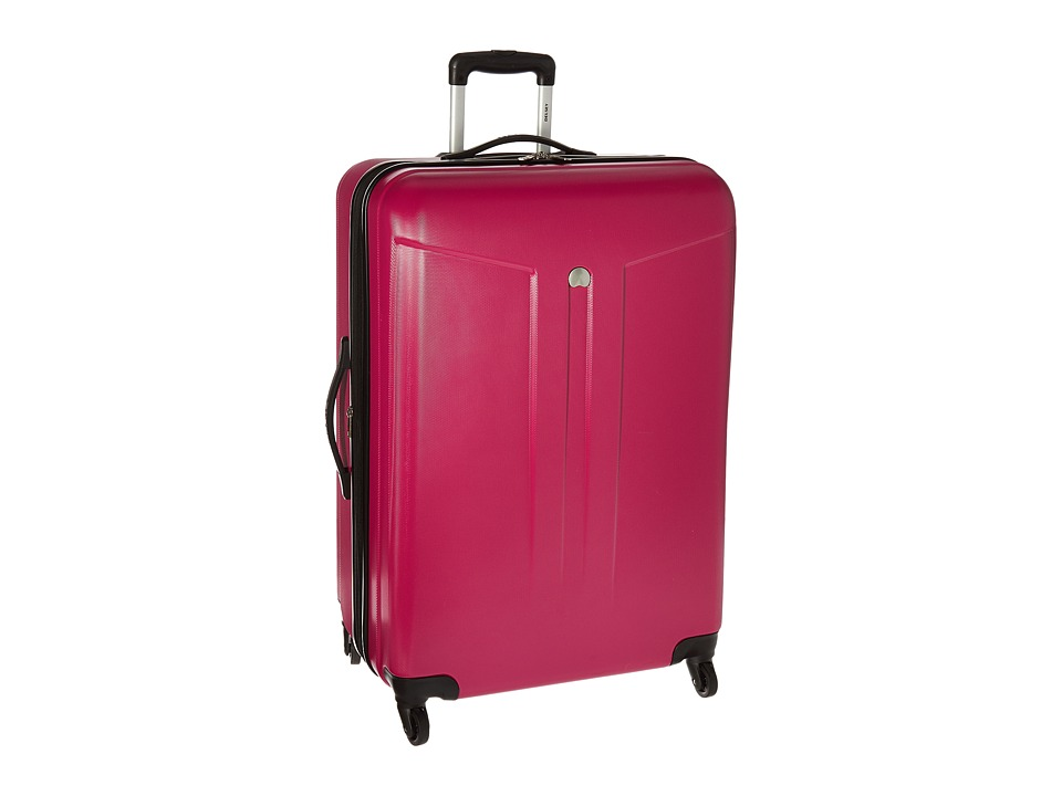 Delsey - Comete 28 Expandable Spinner Trolley (Fuchsia) Pullman Luggage