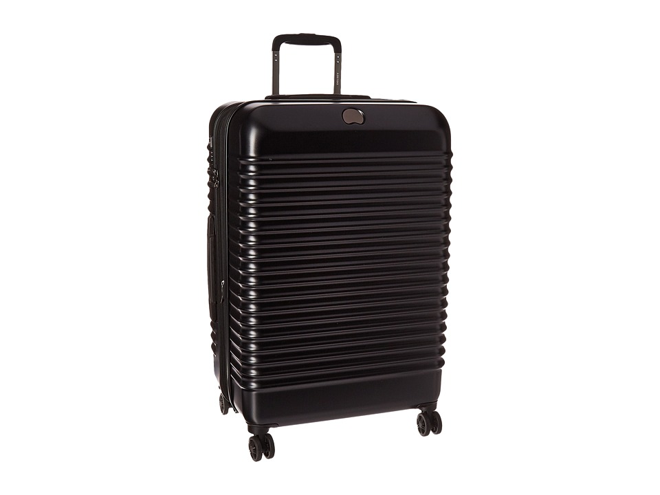 Delsey - Bastille Lite 25 Expandable Spinner Trolley (Black) Pullman Luggage