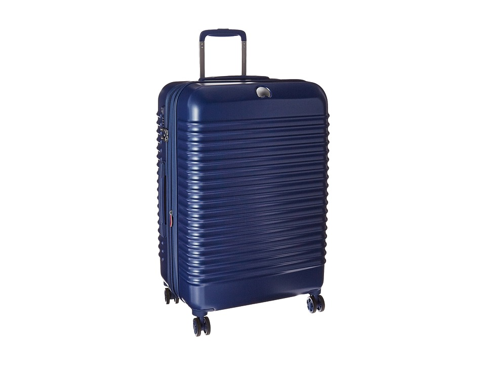 Delsey - Bastille Lite 25 Expandable Spinner Trolley (Blue) Pullman Luggage
