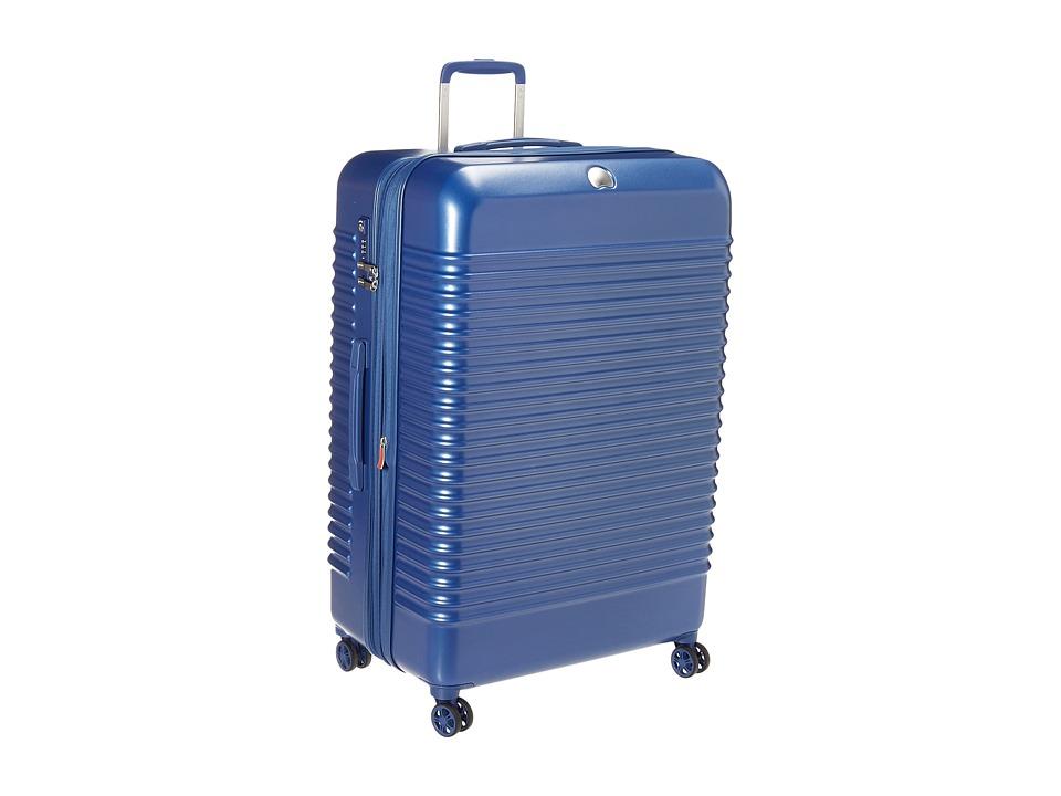 DELSEY Bastille Lite 29 Expandable Spinner Trolley (Blue)...