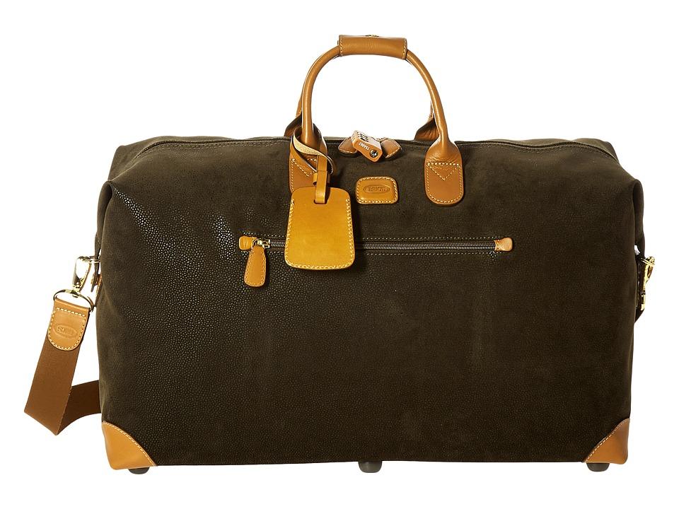 Bric's Milano - Life - 22 Cargo Duffel (Olive) Tote Handbags