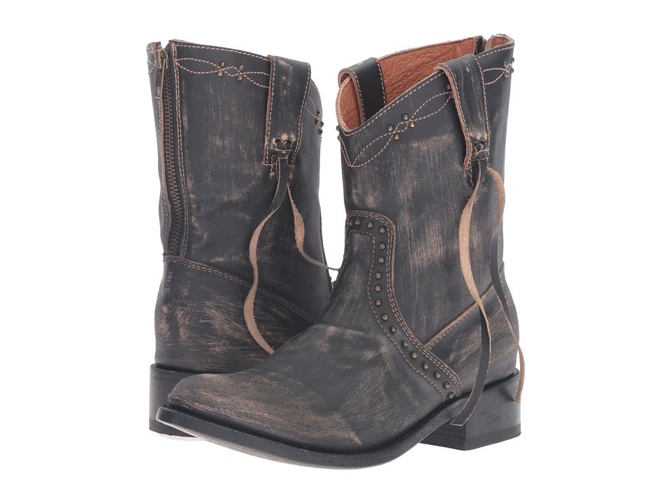 Dan Post Whisper (Grey Vintage Distressed) Cowboy Boots