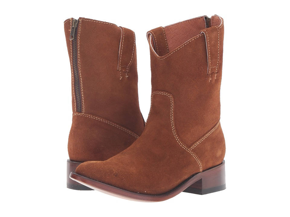 Dan Post Georgie (Amber Zip Round) Cowboy Boots