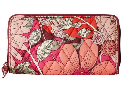 Vera Bradley RFID Georgia Wallet - Bohemian Blooms