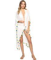 Bindya - Neon Tassel Kimono