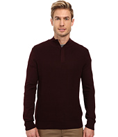 Perry Ellis - Color Block 1/4 Zip Sweater