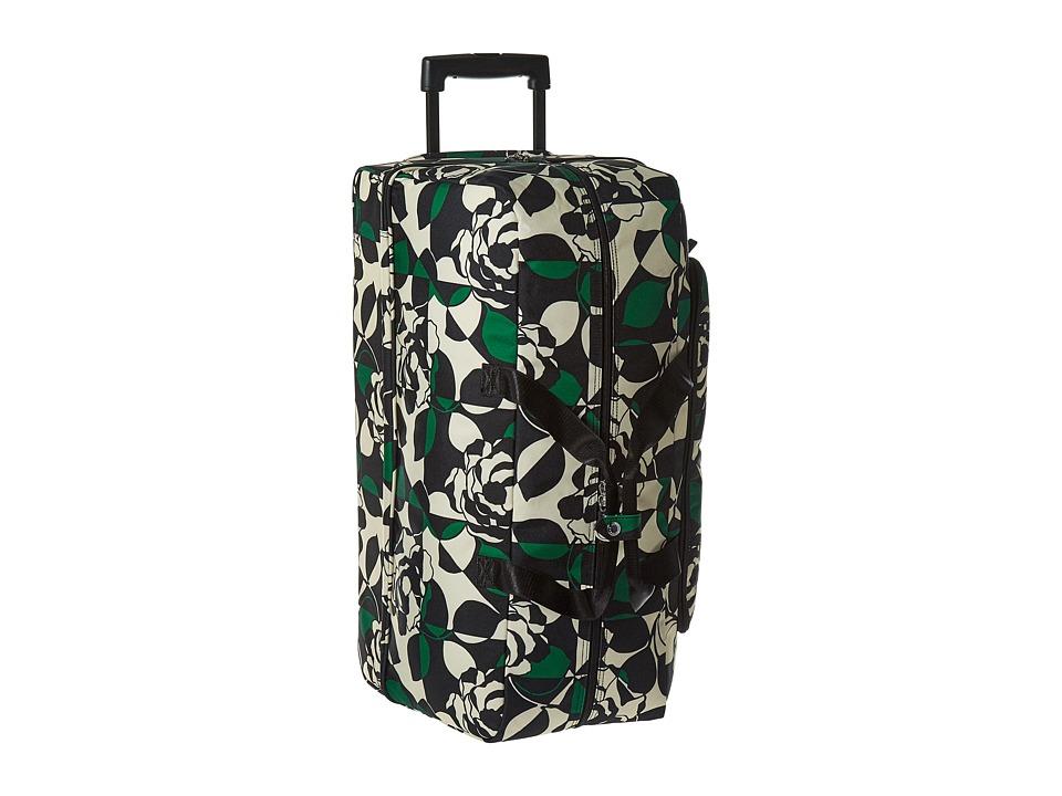 Vera Bradley Luggage Lighten Up Large Wheeled Duffel (Imperial Rose) Duffel Bags