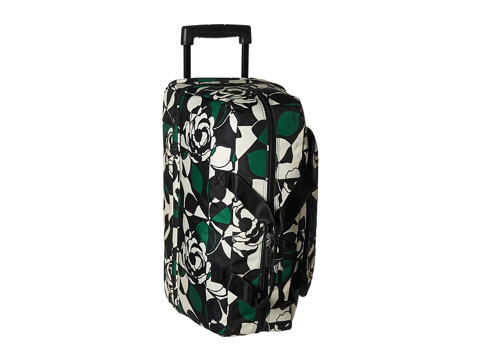 Vera Bradley Luggage Lighten Up Wheeled Carry On (Imperial Rose) Carry on Luggage