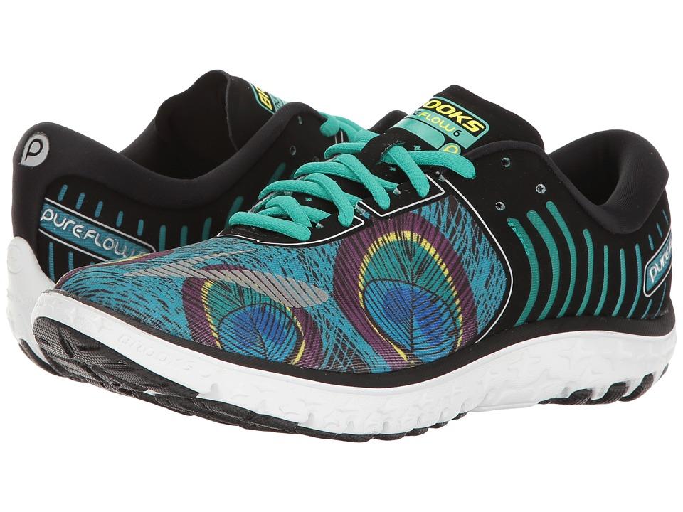Brooks - PureFlow 6 (Peacock/Peacock Green/Black) Womens Running Shoes