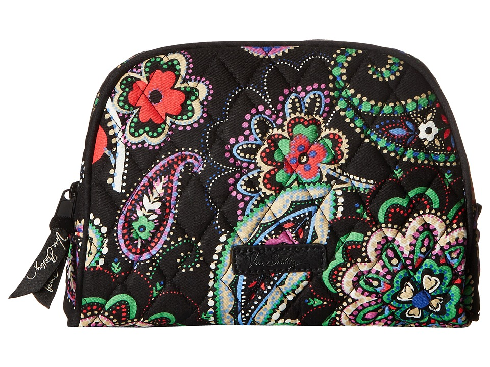 Vera Bradley Medium Zip Cosmetic (Kiev Paisley) Cosmetic Case