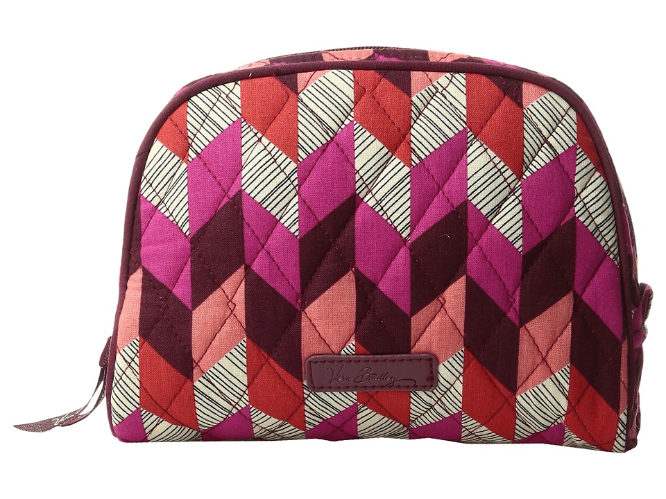 Vera Bradley Medium Zip Cosmetic (Bohemian Chevron) Cosmetic Case