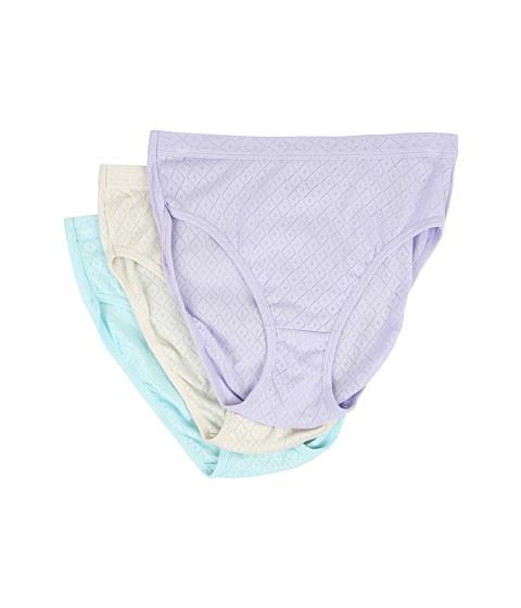 Jockey Elance Breathe French Cut 3-Pack - Violet Veil/Sandy Shimmer/Minty Mist