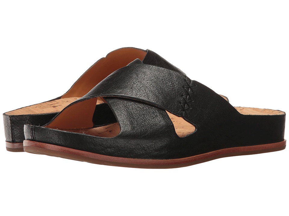 Kork-Ease Amboy (Black Full Grain) Women