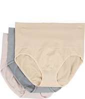 Yummie by Heather Thomson - Nylon Seamless Briefie 3-Pack