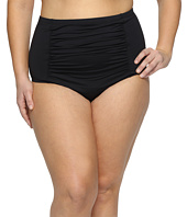 BECCA by Rebecca Virtue - Plus Size Black Beauties High Waist Bottoms
