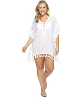 BECCA by Rebecca Virtue - Plus Size Wanderer Tunic Cover-Up