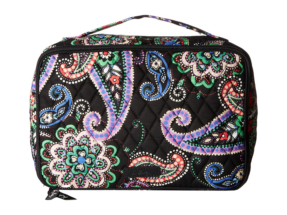 Vera Bradley Large Blush Brush Makeup Case (Kiev Paisley) Cosmetic Case