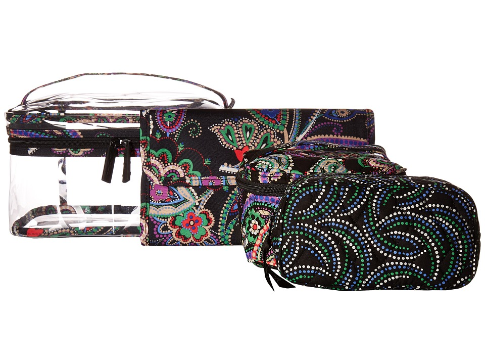 Vera Bradley Travel Cosmetic Set (Kiev Paisley) Cosmetic Case