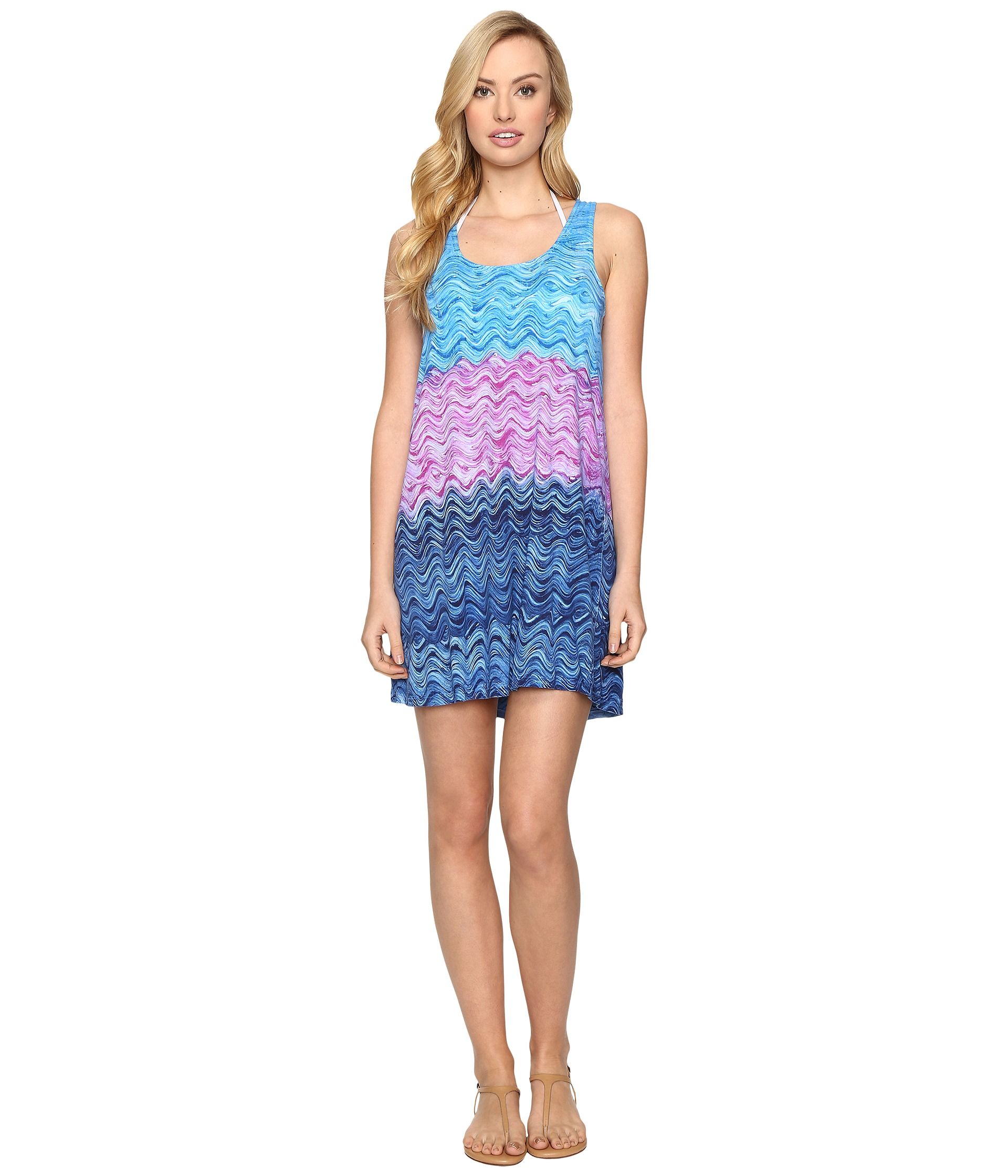 Becca by rebecca virtue cosmic dress cover up water for Cosmic pattern clothing