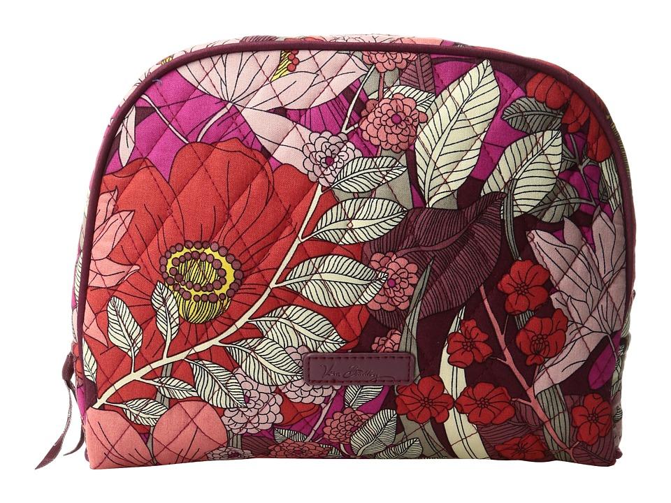 Vera Bradley Large Zip Cosmetic (Bohemian Blooms) Cosmetic Case