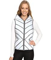 Blanc Noir - Mesh Inset Puffer Vest Reflective