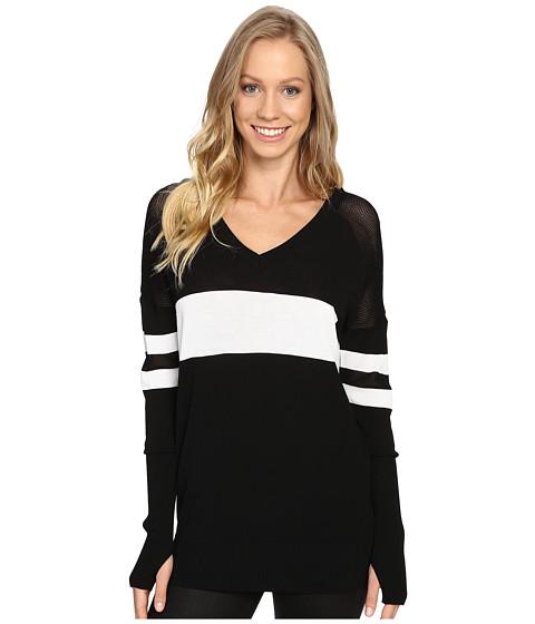 Blanc Noir Jockey Sweater