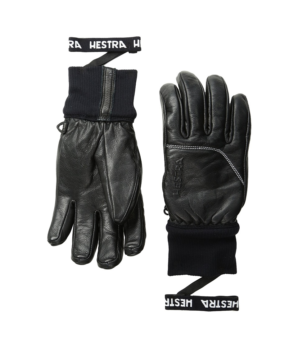 Hestra Omni (Black/Black) Ski Gloves