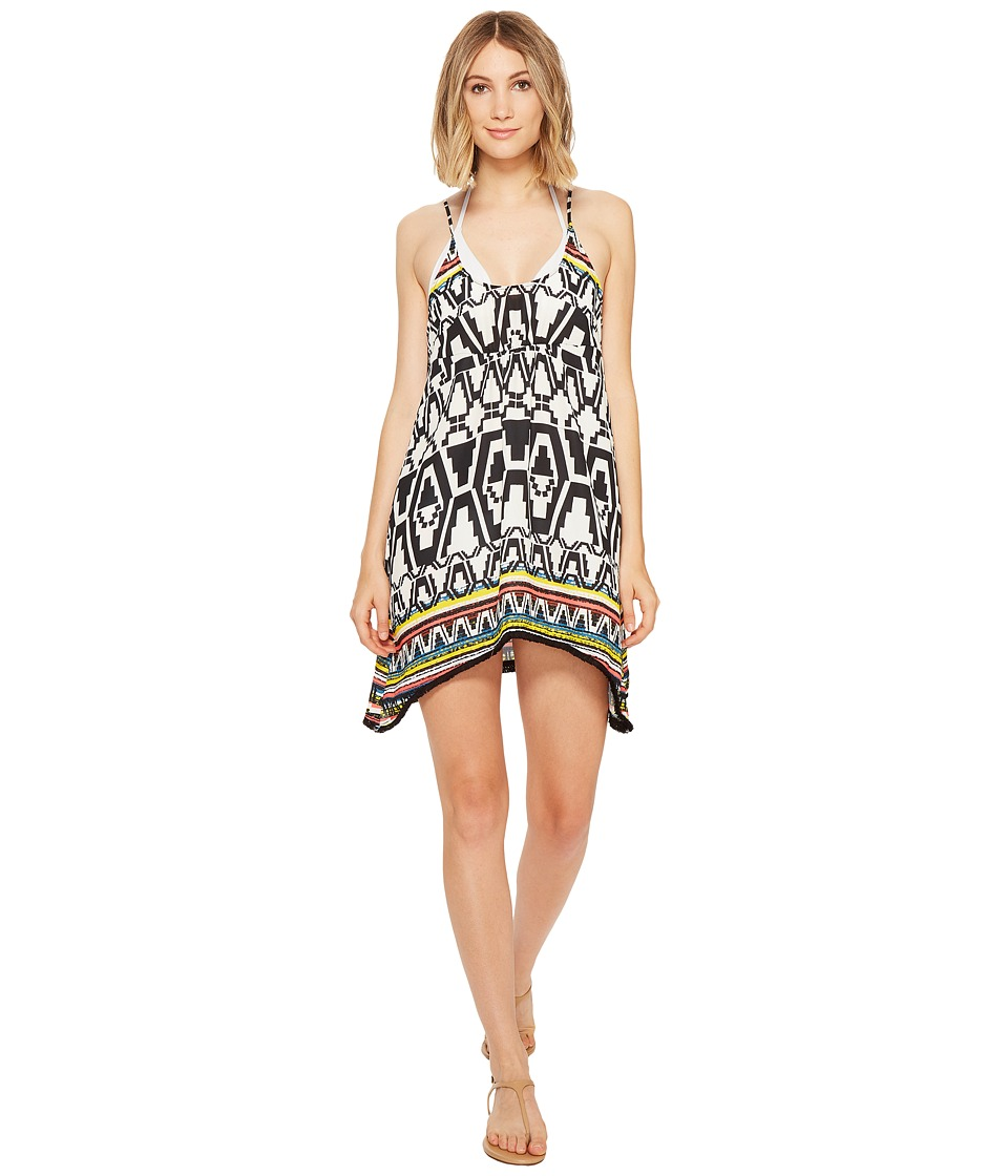 BECCA by Rebecca Virtue Primitive Journey Dress Cover-Up (Multi) Women