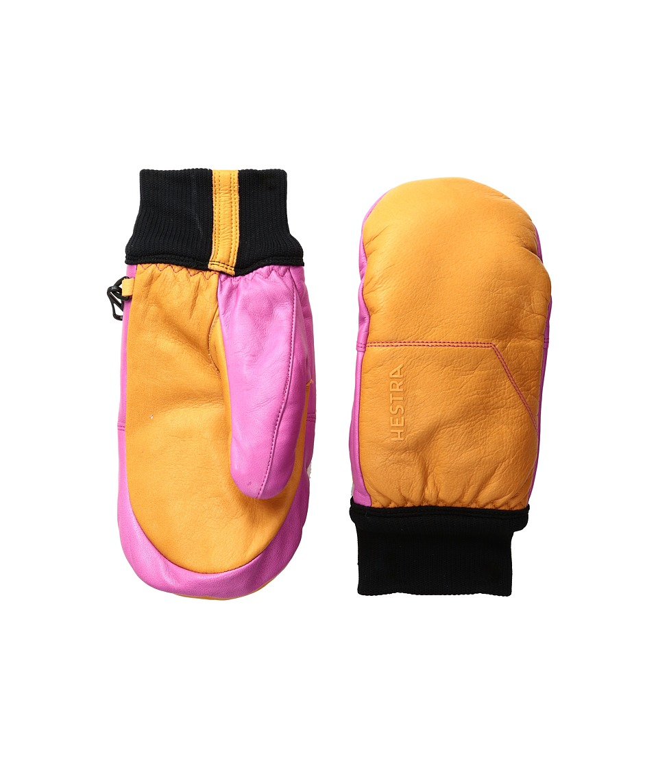 Hestra Omni Mitt (Orange/Pink) Ski Gloves