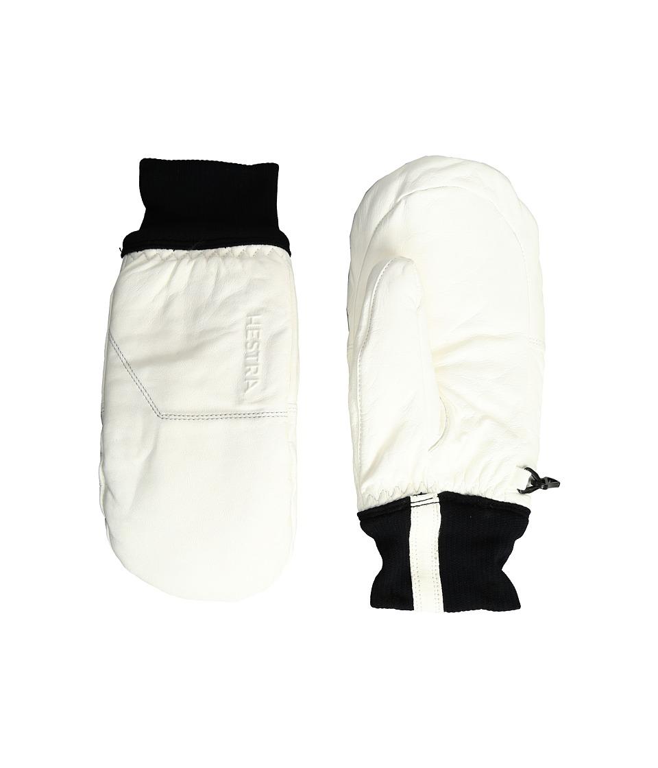 Hestra Omni Mitt (White/White) Ski Gloves