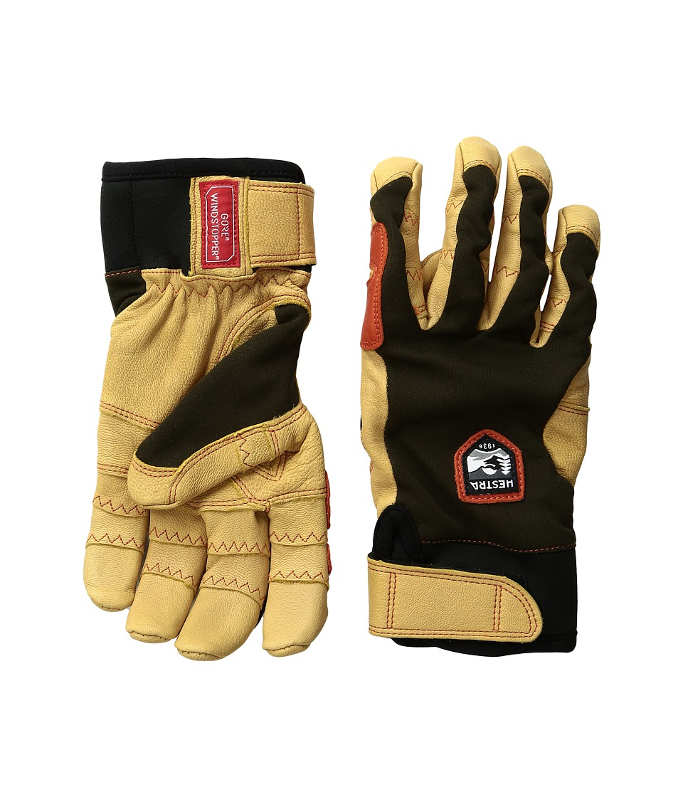Hestra Ergo Grip Active (Forest/Tan) Ski Gloves