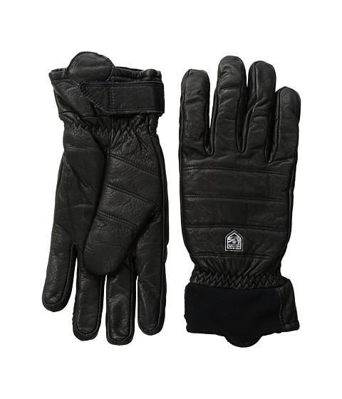 Hestra Alpine Leather Primaloft - Black