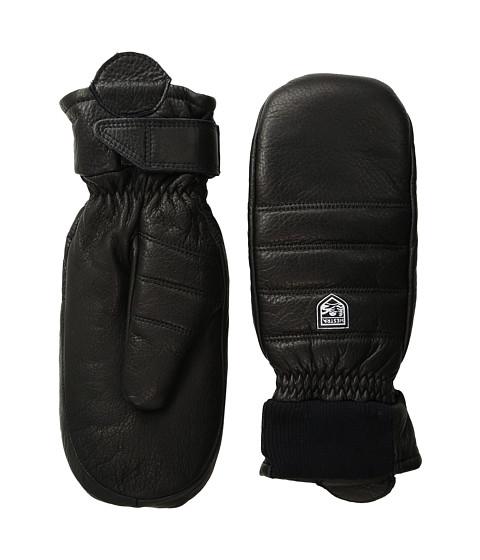 Hestra Alpine Leather Primaloft Mitt - Black