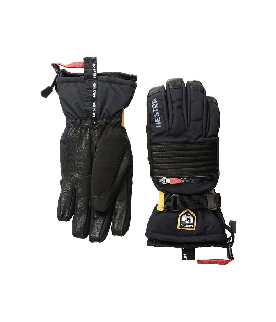 Hestra All Mountain Czone (Black) Ski Gloves