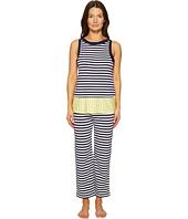 Kate Spade New York - Stripe Capri PJ Set