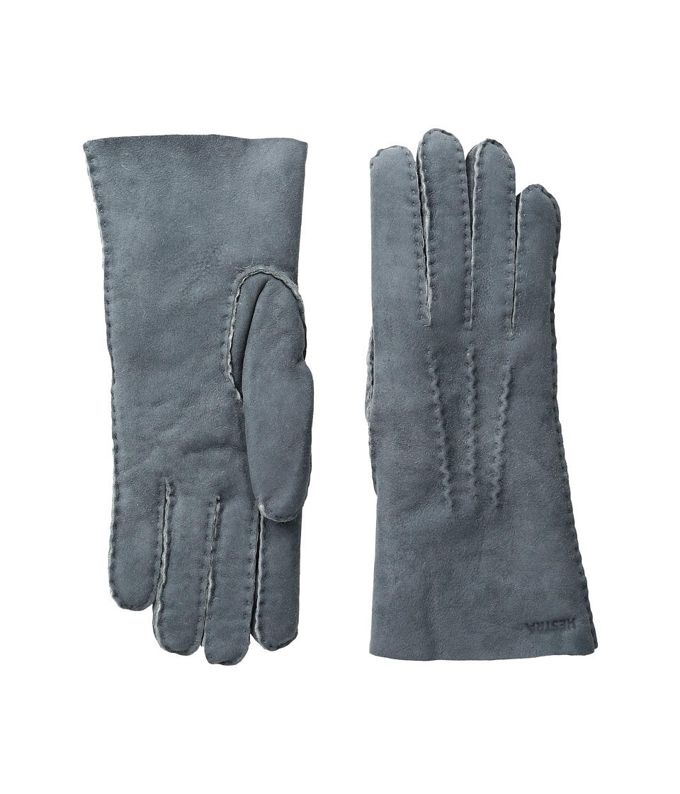 Hestra Sheepskin Gloves (Grey) Ski Gloves