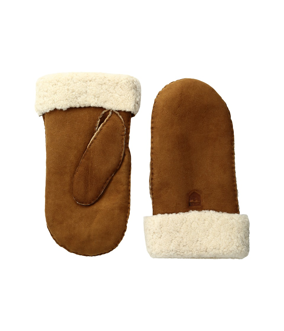 Hestra Sheepskin Mitt (Cork) Ski Gloves