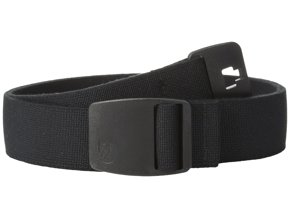 Fjallraven - Keb Trekking Belt (Black) Belts