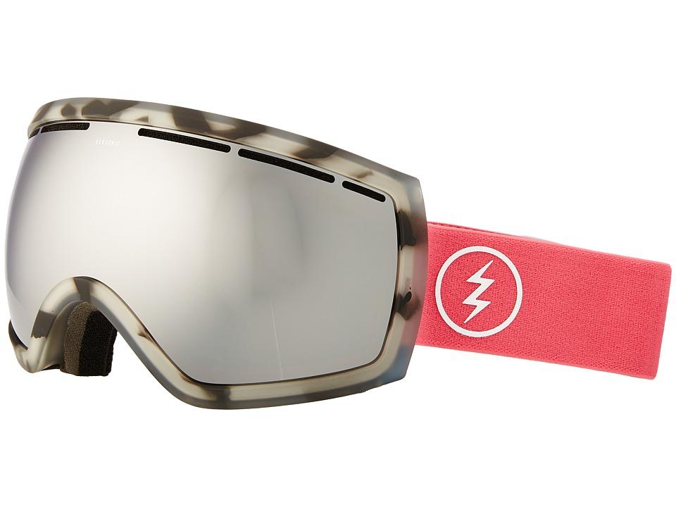 Electric Eyewear EG2 (Pink Tort/Brose/Silver Chrome) Goggles