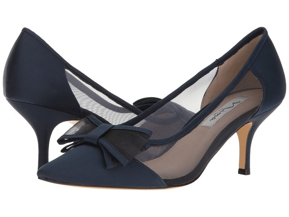 Nina-Bianca  (New Navy) Womens 1-2 inch heel Shoes