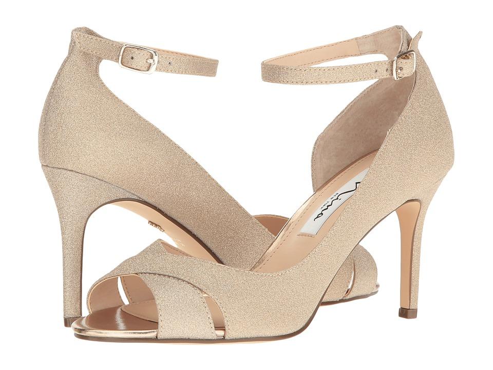 Nina Flo (Gold) High Heels