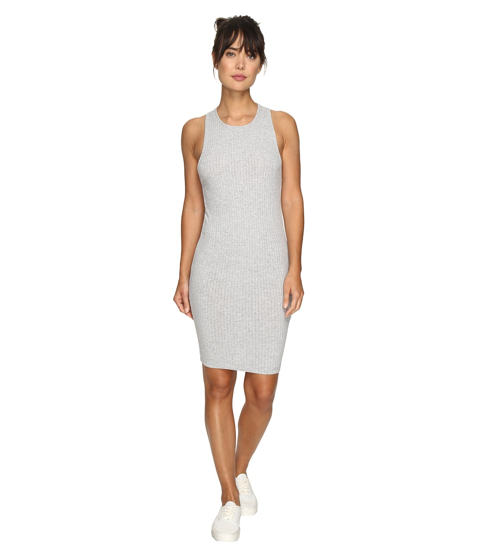 Rip Curl Jet Set Dress (Heather Grey) Women