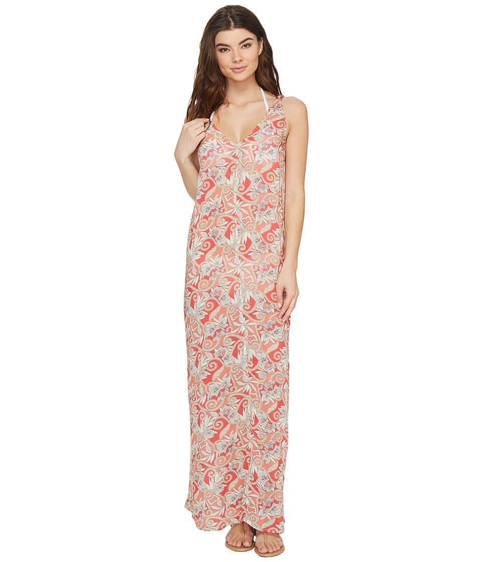 Maaji Maaji - Berry Coolness Long Dress Cover-Up