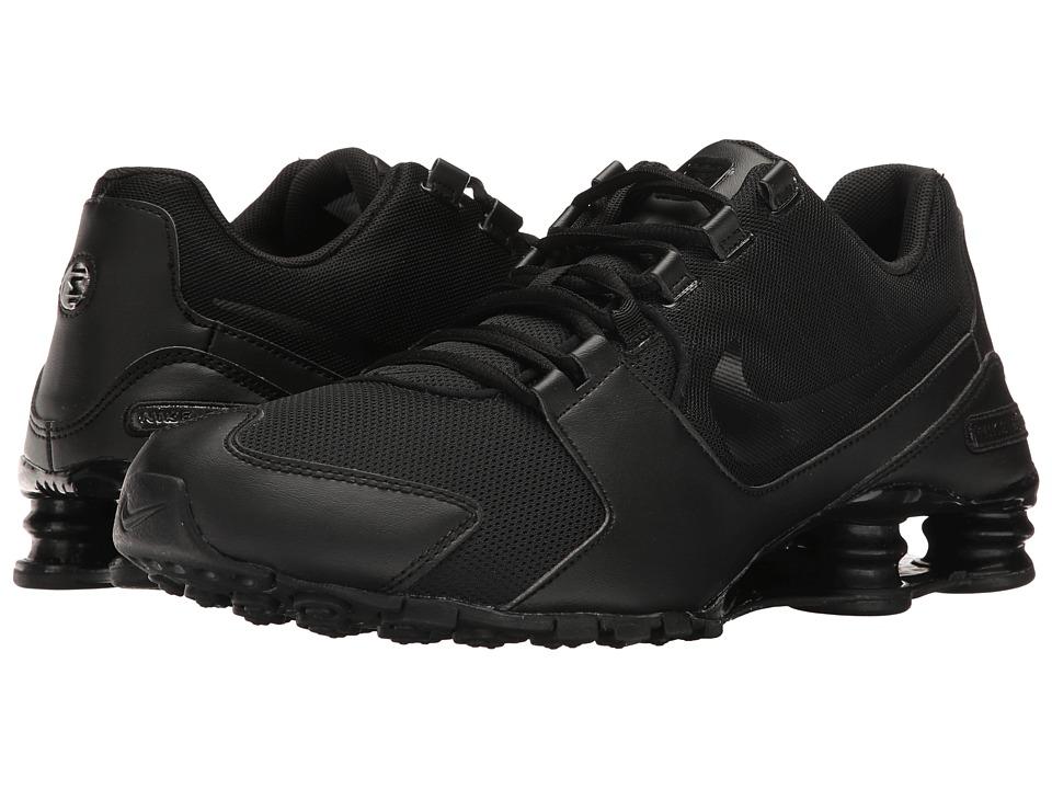 Nike Shox Avenue (Black/Black/Black) Men's Shoes